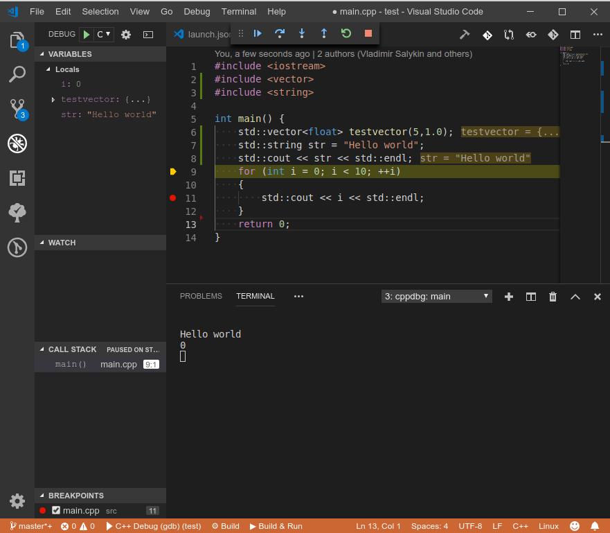 Must-have плагины и несколько полезностей для С-С++ разработки в VS Code - 4