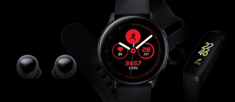 Аксессуары для Galaxy S10. Samsung показала умные часы, браслет и наушники раньше времени