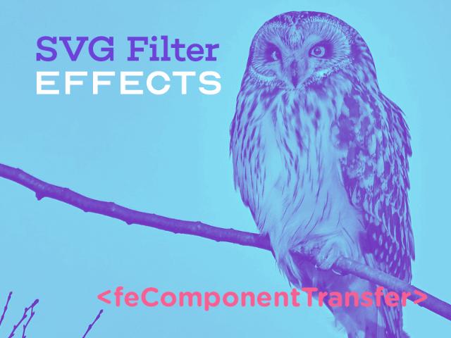 Эффекты фильтрации SVG. Часть 4. Двухцветные изображения при помощи feComponentTransfer - 1