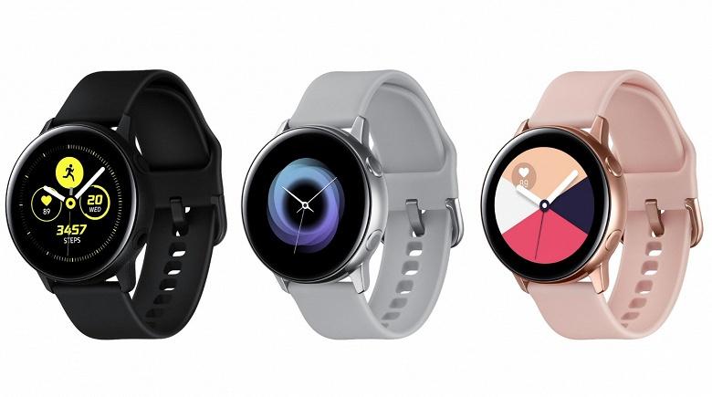 Качественные изображения часов Samsung Galaxy Watch Active и наушников Galaxy Buds позволяют рассмотреть все детали