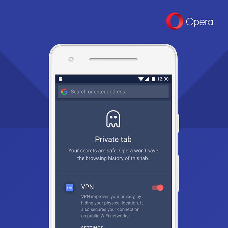 Мобильная Opera обзавелась бесплатным VPN - 3