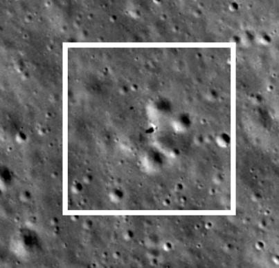 Лунный орбитальный зонд NASA сделал новые снимки Китайской станции «Чанъэ-4» — ближе и яснее - 1