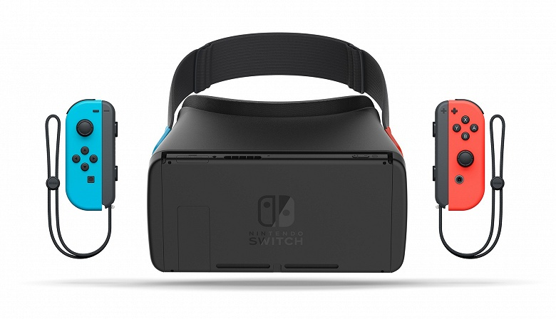 Nintendo может превратить консоль Switch в устройство для VR уже в нынешнем году