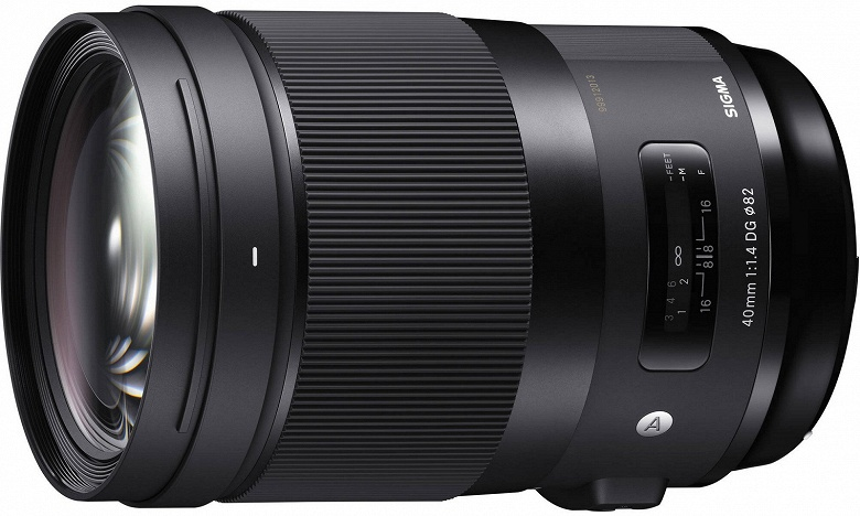 Названы цена и срок начала продаж объектива Sigma 40mm F1.4 DG HSM | Art с креплением Sony E - 1