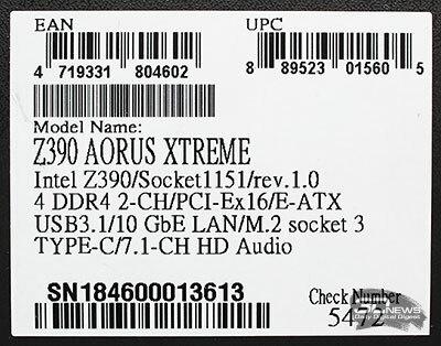 Новая статья: Обзор и тест материнской платы Gigabyte AORUS Z390 Xtreme: Hi-End, как он есть