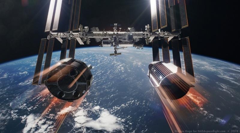 NASA покупает еще два места на «Союзах», испытывает RS-25 и не отказывается от околоземной станции - 2