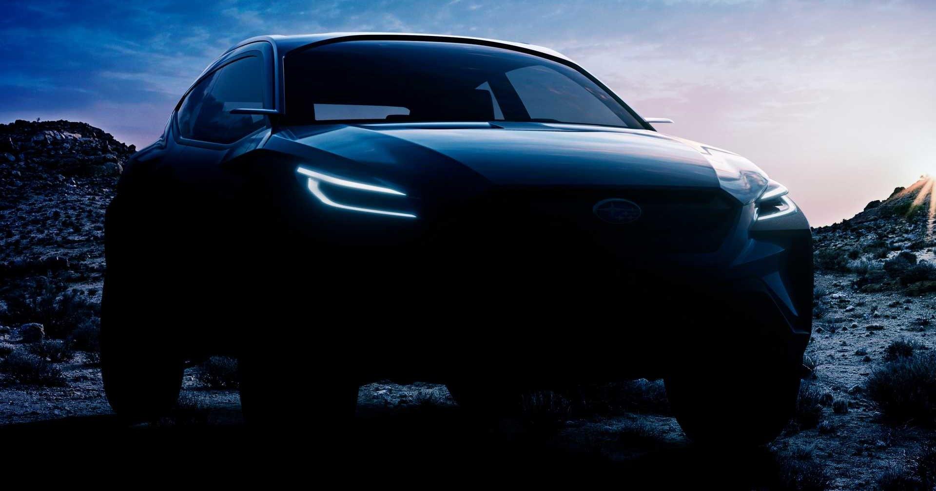 Subaru покажет «адреналиновый» кроссовер