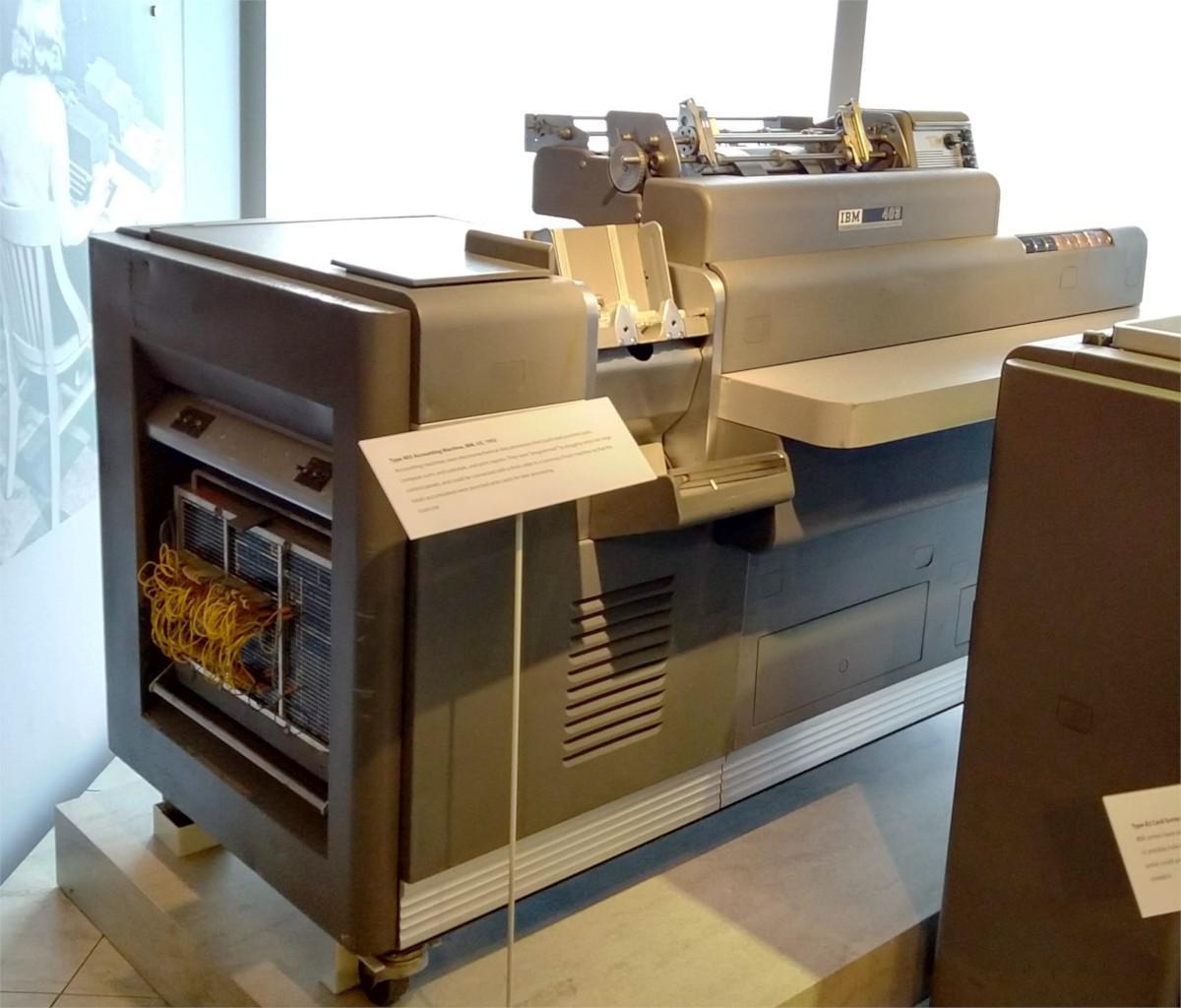 Бухгалтерские машины, IBM 1403, и почему 132 колонки – это стандарт для принтеров - 2