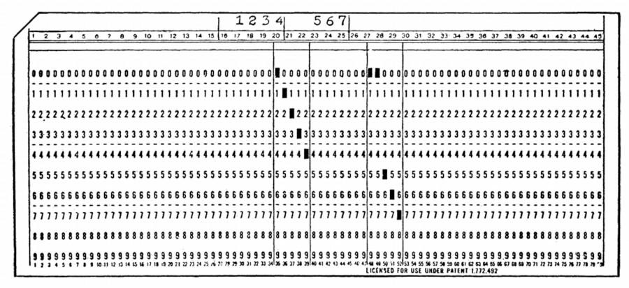 Бухгалтерские машины, IBM 1403, и почему 132 колонки – это стандарт для принтеров - 7