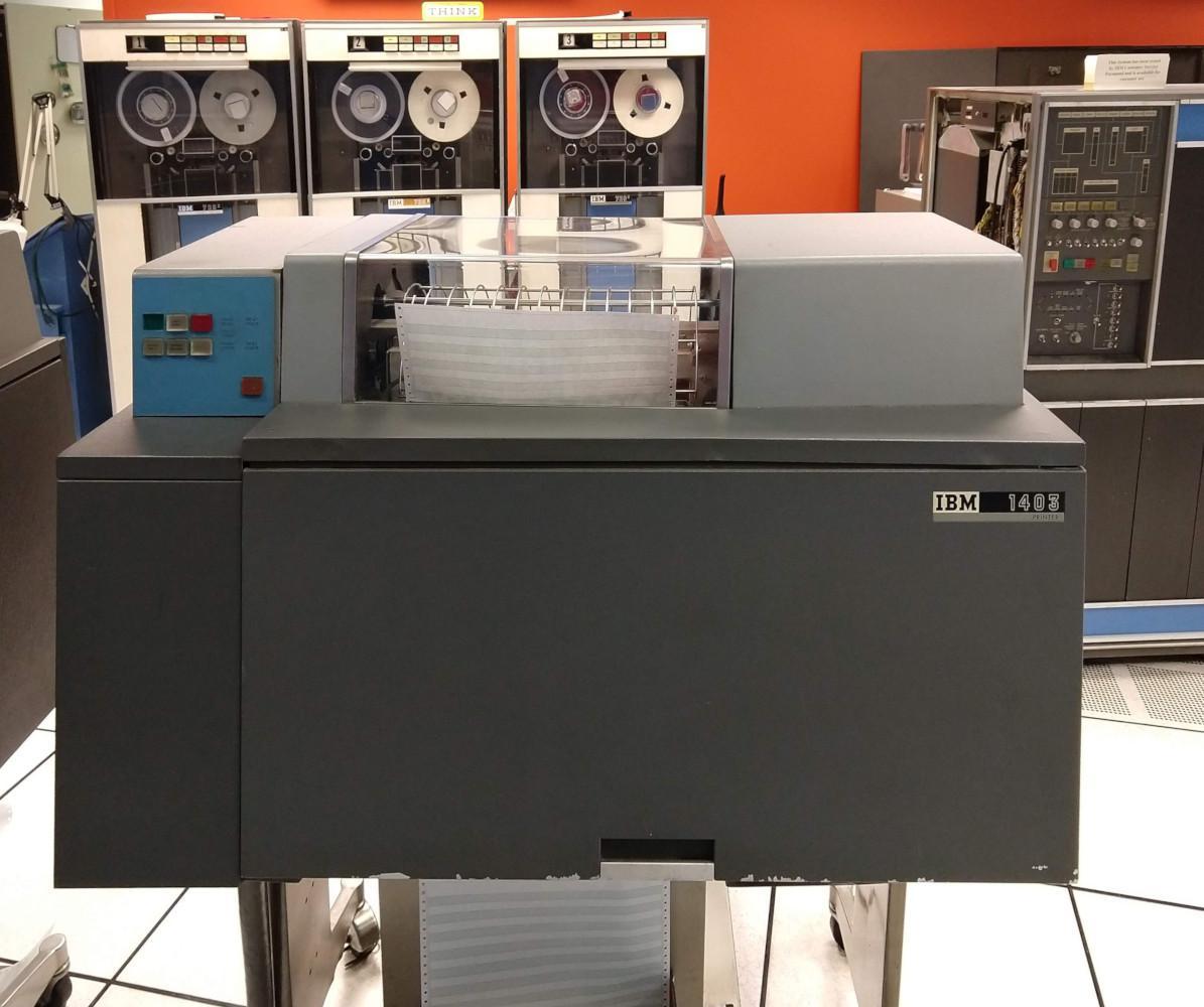 Бухгалтерские машины, IBM 1403, и почему 132 колонки – это стандарт для принтеров - 1