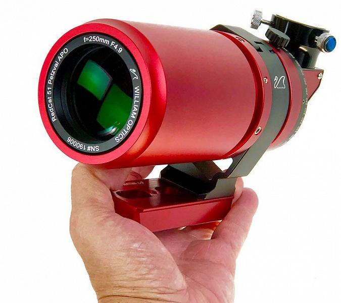 Разработчик называет Redcat 250mm f/4.9 «самым резким в мире» полнокадровым объективом с фокусным расстоянием 250 мм