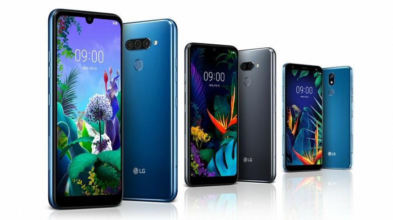 Анонсированы смартфоны LG K40, K50 и Q60: двойные и тройные камеры, экраны с каплевидным вырезом и восьмиядерные процессоры