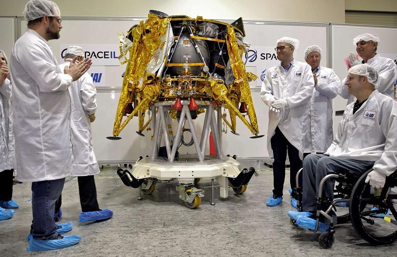 Израиль готовится запустить на Луну свой первый космический аппарат