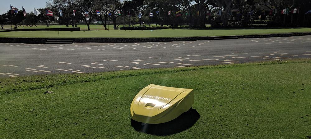 Навигация сервисного робота на поле для гольфа. Построение пути и обход препятствий - 3