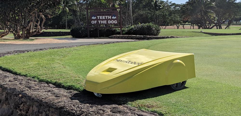 Навигация сервисного робота на поле для гольфа. Построение пути и обход препятствий - 4