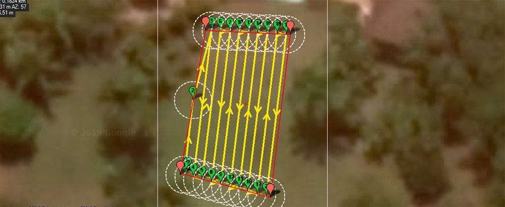 Навигация сервисного робота на поле для гольфа. Построение пути и обход препятствий - 6