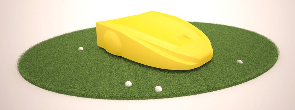 Навигация сервисного робота на поле для гольфа. Построение пути и обход препятствий - 1