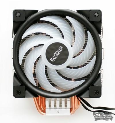 Новая статья: Обзор и тестирование кулера PCCooler GI-D56V HALO RGB: четыре, пять — или без разницы?