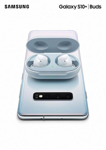 Представлены беспроводные наушники Samsung Galaxy Buds с функцией зарядки от Samsung Galaxy S10