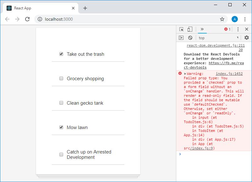Учебный курс по React, часть 17: пятый этап работы над TODO-приложением, модификация состояния компонентов - 2