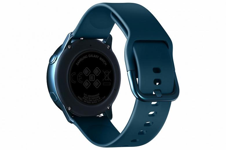 Умные часы Samsung Galaxy Watch Active с функцией измерения кровяного давления представлены официально