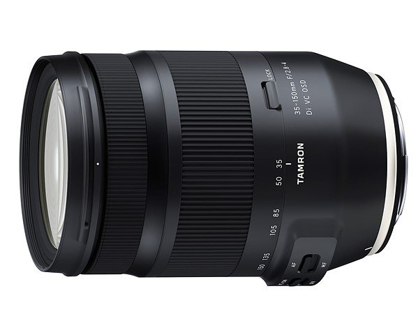 Tamron объявляет о разработке объективов 35-150mm F/2.8-4 Di VC OSD (Model A043) и SP 35mm F/1.4 Di USD (Model F045) для зеркальных камер Canon и Nikon