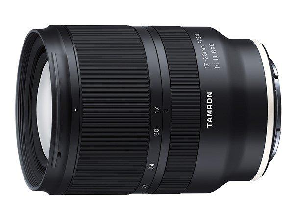 Полнокадровый объектив Tamron 17-28mm F/2.8 Di III RXD (Model A046) с креплением Sony E должен появиться в продаже в середине года