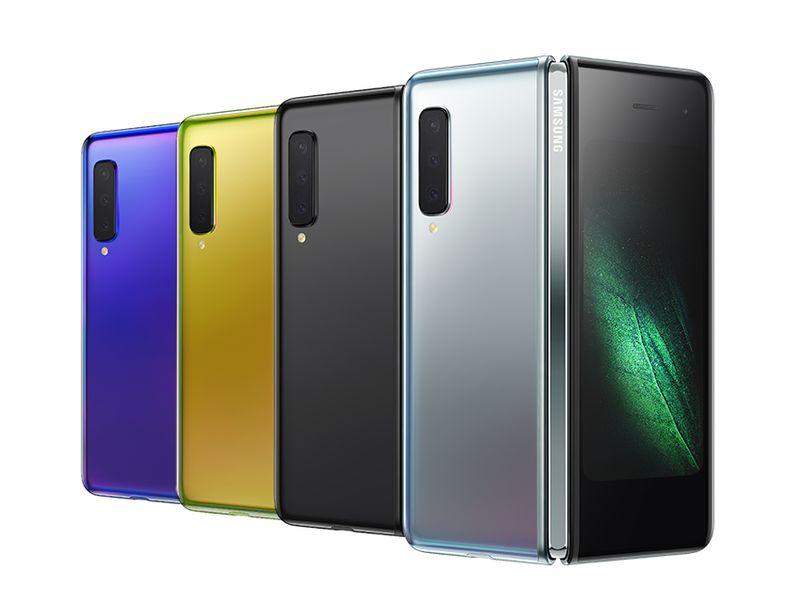Уже не концепт: Samsung представила складной телефон Galaxy Fold за $1980 - 1
