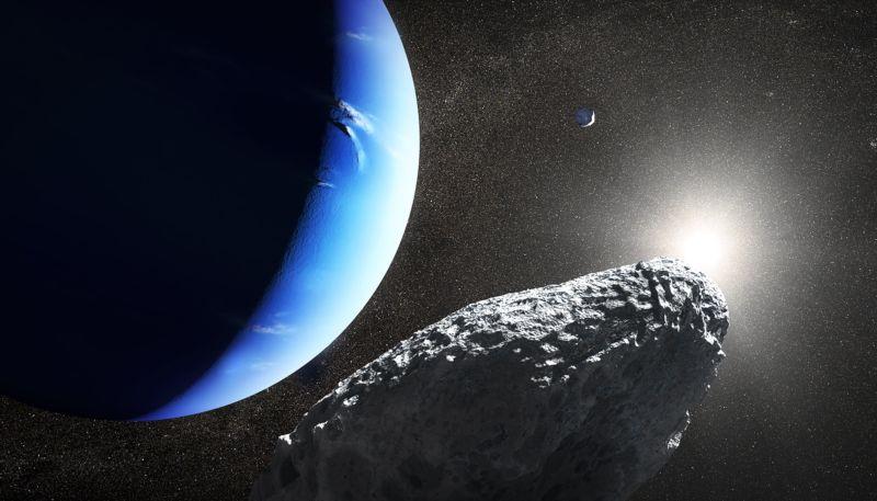 Как выглядит невидимая ранее луна Нептуна - 2