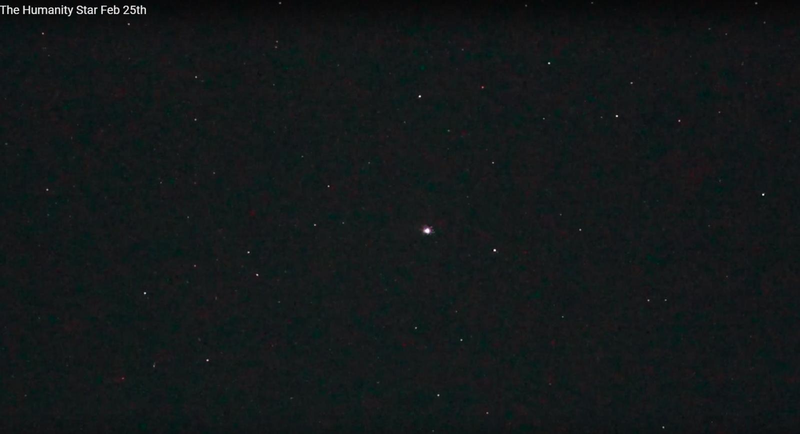 Облачно, вероятна неотключаемая реклама на звездном небе - 10