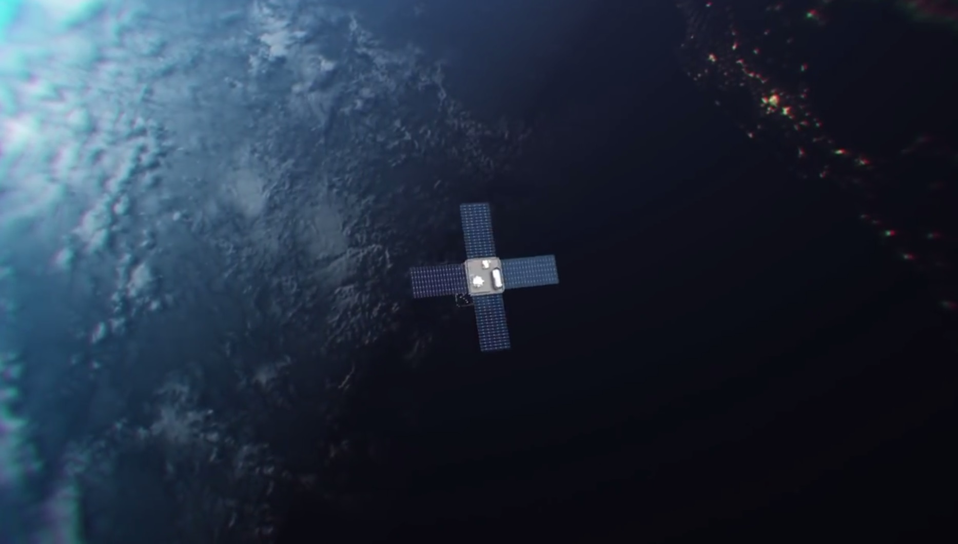 Облачно, вероятна неотключаемая реклама на звездном небе - 13