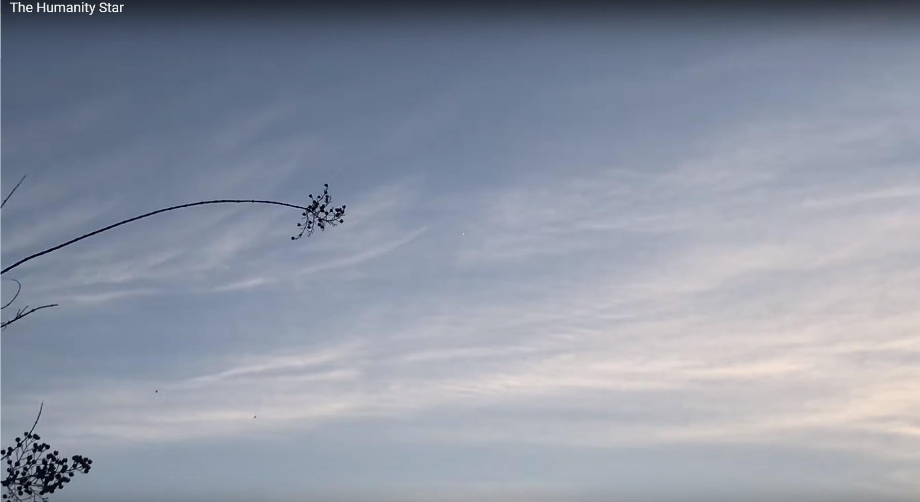 Облачно, вероятна неотключаемая реклама на звездном небе - 7
