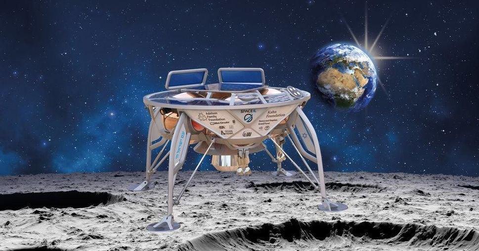 Ракета Falcon 9 запустила в космос израильский лунный зонд