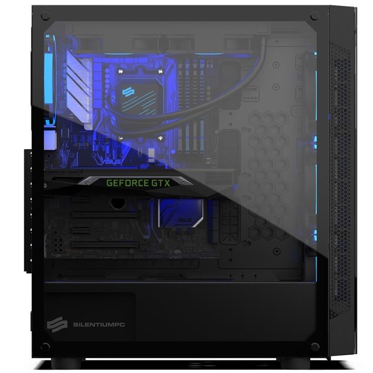 SilentiumPC Armis AR5X TG RGB: ПК-корпус со стеклянными панелями