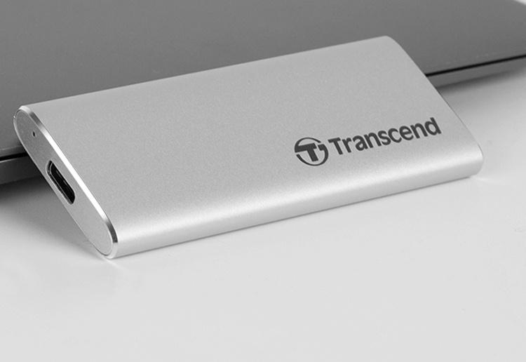 Transcend ESD230C и ESD240C: портативные SSD-накопители с портом USB Type-C