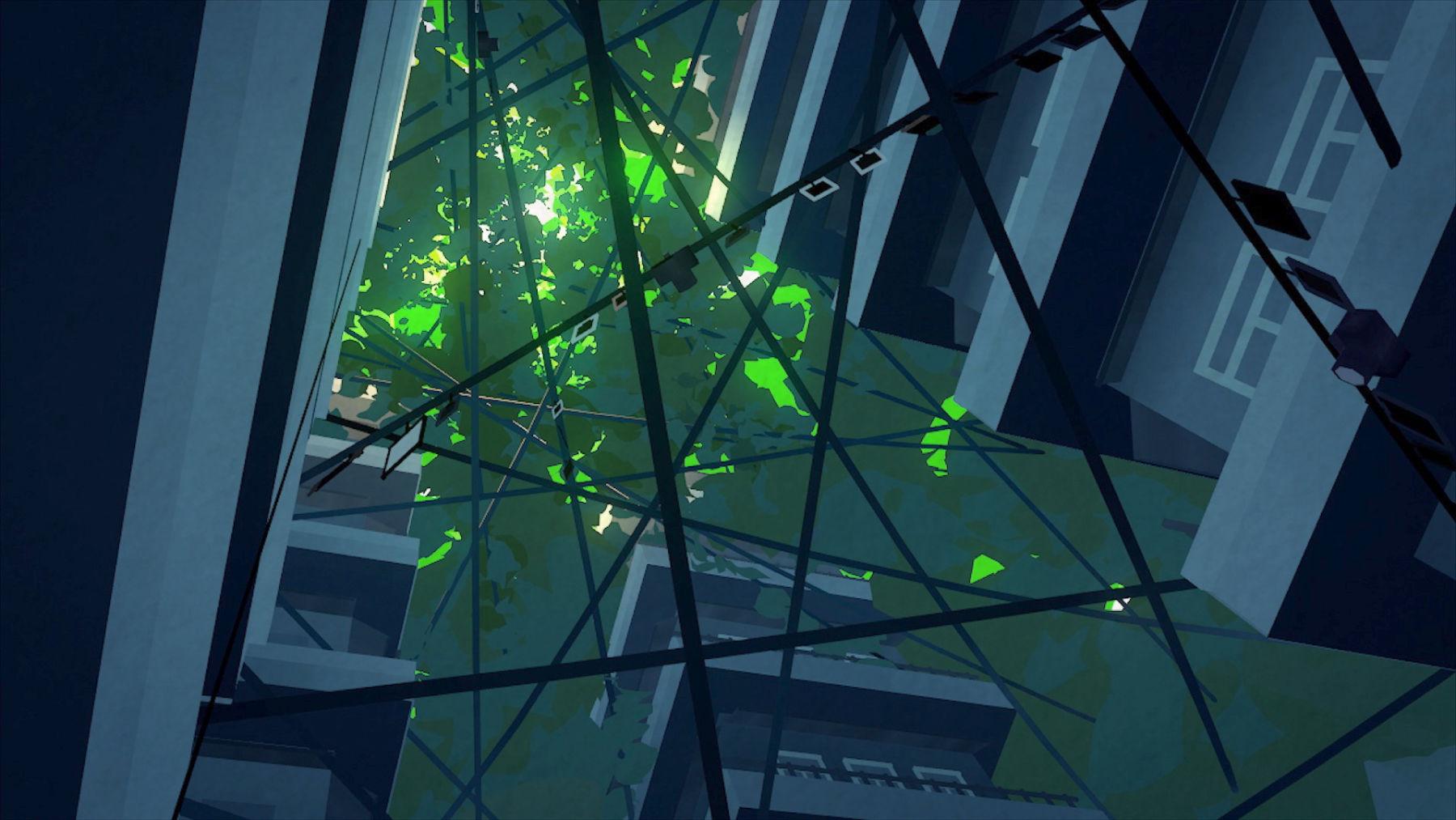 Wired – анимационный фильм из нескольких сцен, нарисованный и анимированный в VR - 2