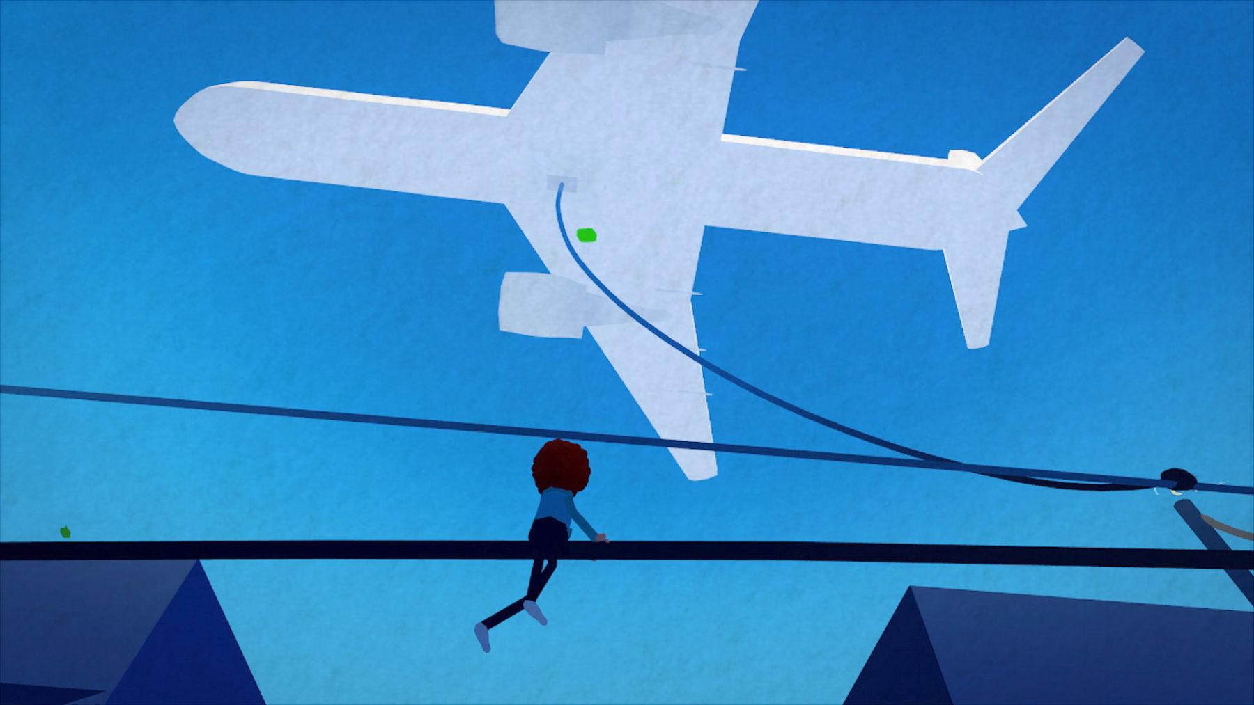 Wired – анимационный фильм из нескольких сцен, нарисованный и анимированный в VR - 1