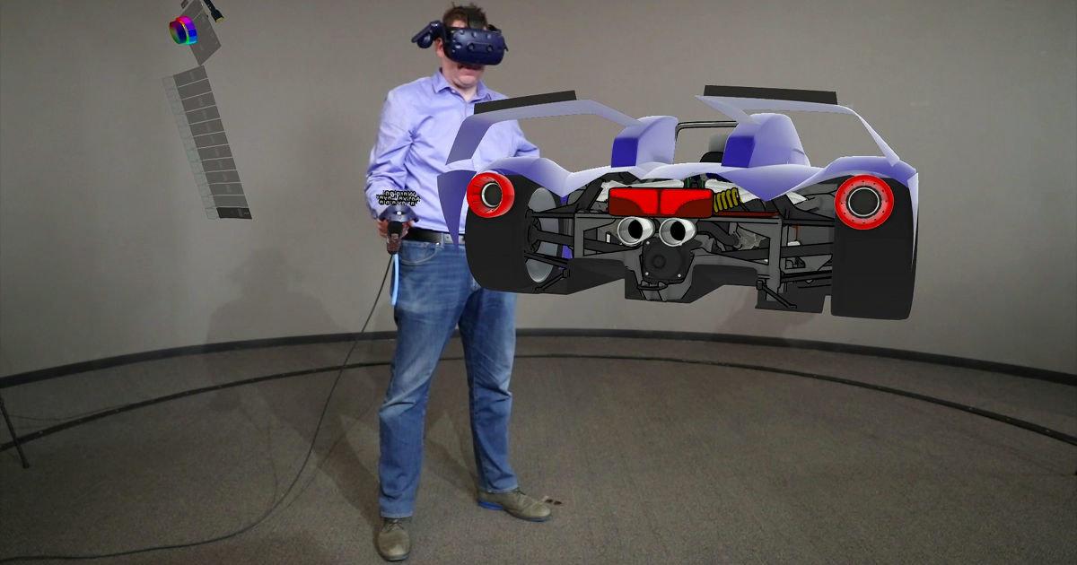Автомобили будут проектировать в виртуальной реальности