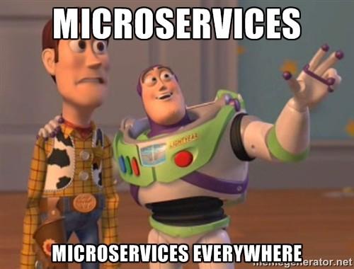 Опыт построения инфраструктуры на микросервисной архитектуре - 1