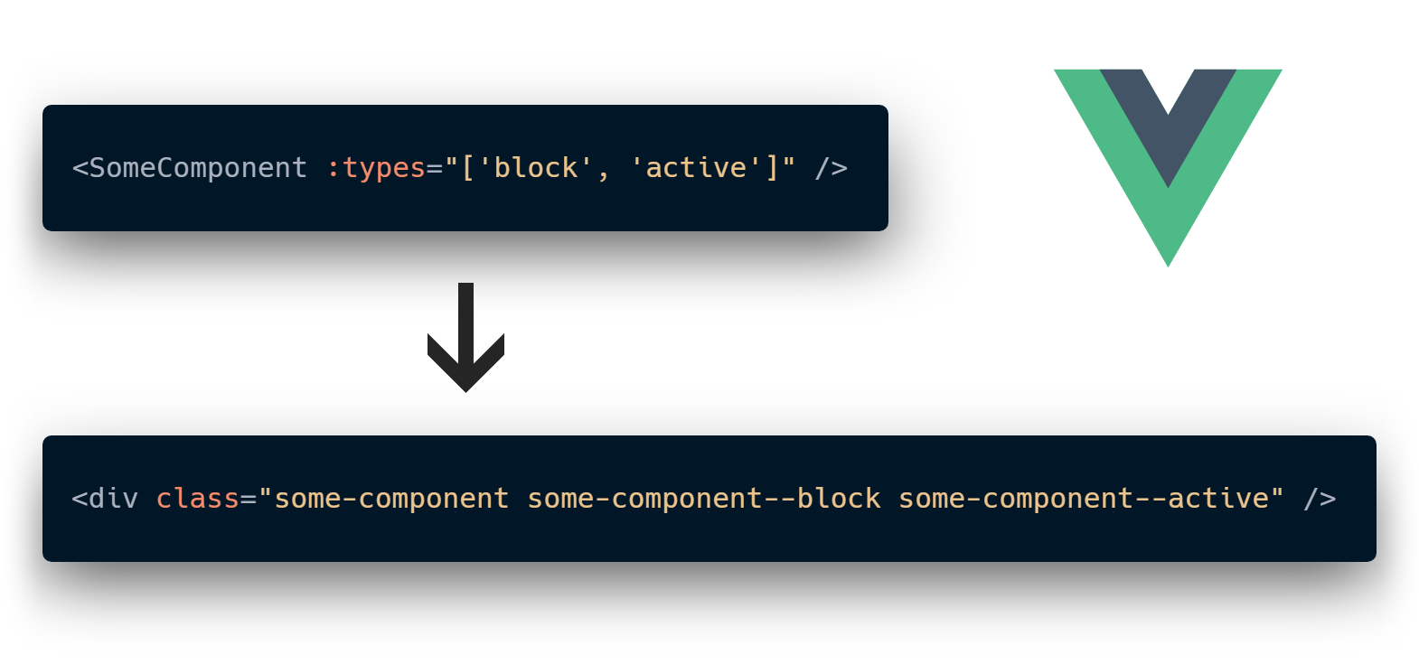 Vue mixins, the explicit way (by an example of BEM modifiers plugin) - 1