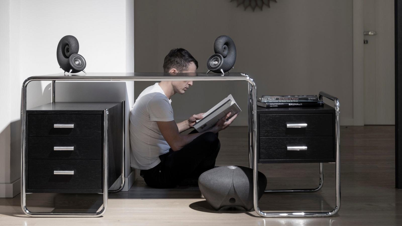 Первая серийная акустическая система из песка напечатана на 3D-принтере в Чехии - 5