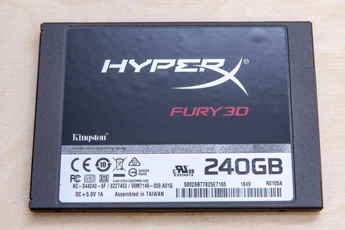 HyperX Fury 3D — SSD с понятной родословной - 4