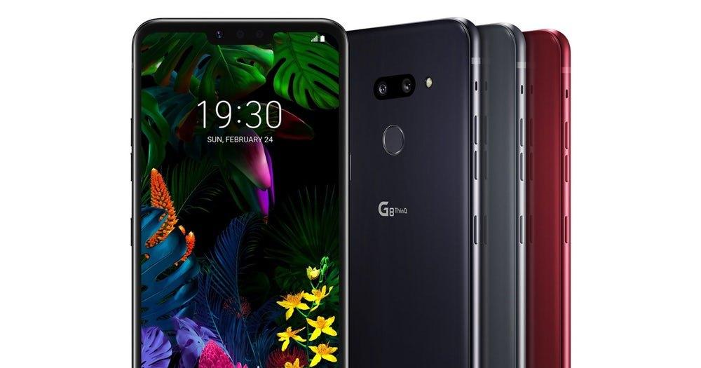 LG представила два новых флагманских смартфона