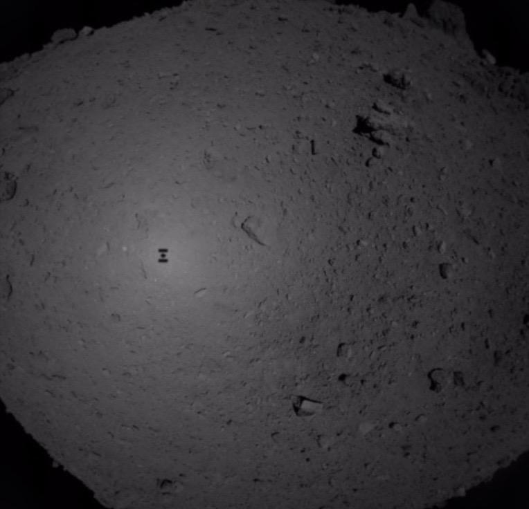 «Хаябуса-2» успешно собрала образцы грунта с Рюгу