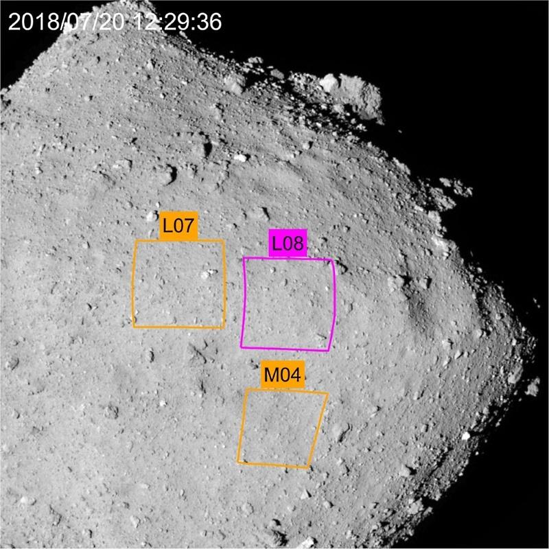 «Хаябуса-2» впервые коснулся астероида - 4