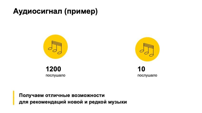 Как рекомендовать музыку, которую почти никто не слушал. Доклад Яндекса - 17