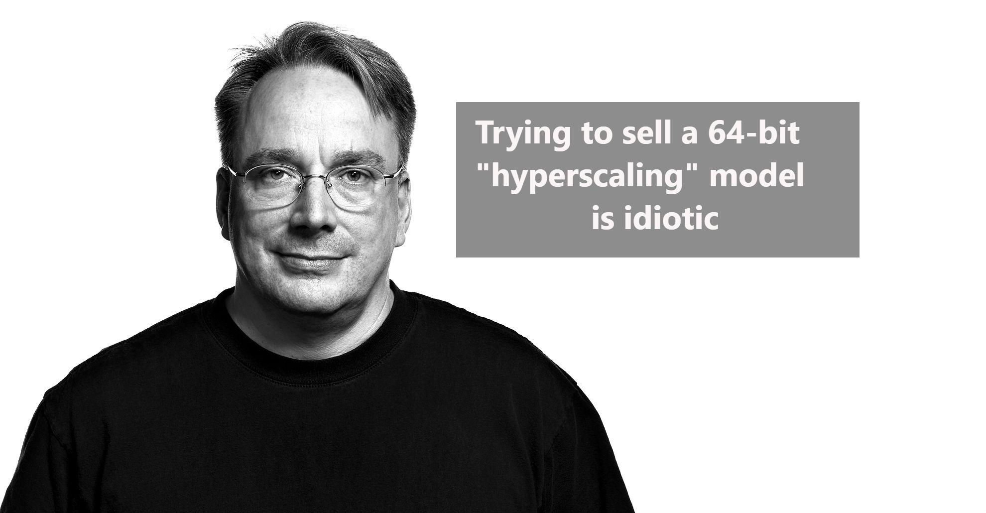Линус Торвальдс не верит, что серверы на ARM-архитектуре заменят x86. «Продавать 64-битную модель — идиотизм» - 1