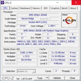 Новая статья: Обзор процессоров AMD Athlon 240GE, 220GE и 200GE: в нужном месте в нужное время