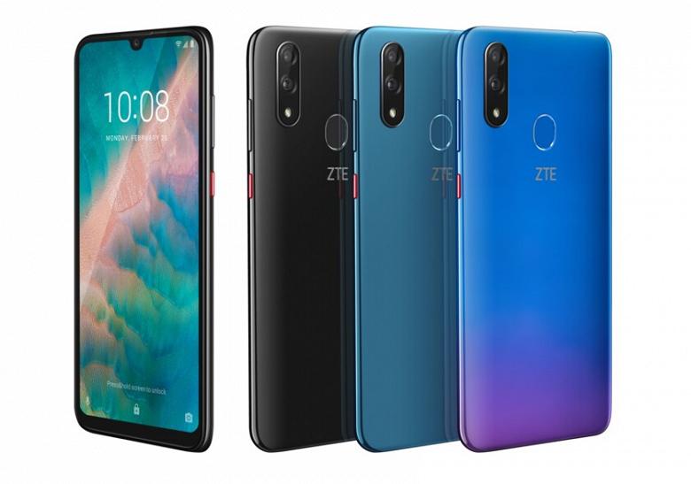 Умные селфи на 32 Мп. Представлен смартфон ZTE Blade V10 с технологией Smart Selfie
