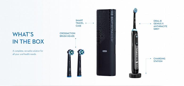 Зубная щетка Oral-B Genius X наделена искусственным интеллектом